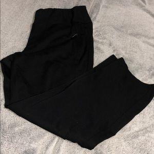 Women's stretchy straight leg dress pants